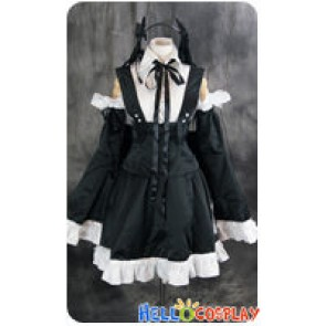 Vocaloid 2 Cosplay Hatsune Miku Lolita Dress Costume