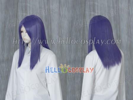 Purple 50cm Cosplay Straight Wig