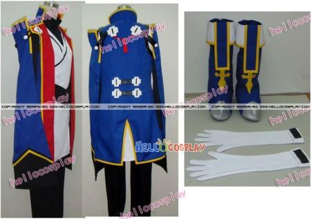 BlazBlue Cosplay Jin Kisaragi Costume