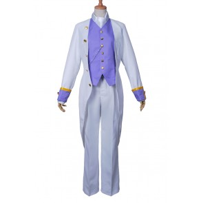 Black Butler Cosplay White Butler Angela and Ash Costume