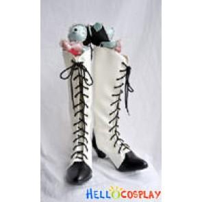 Harukanaru Toki No Naka de 5 Yuki Hasumi Cosplay Shoes