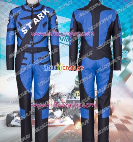 Iron Man Tony Stark Cosplay Costume Jumpsuit