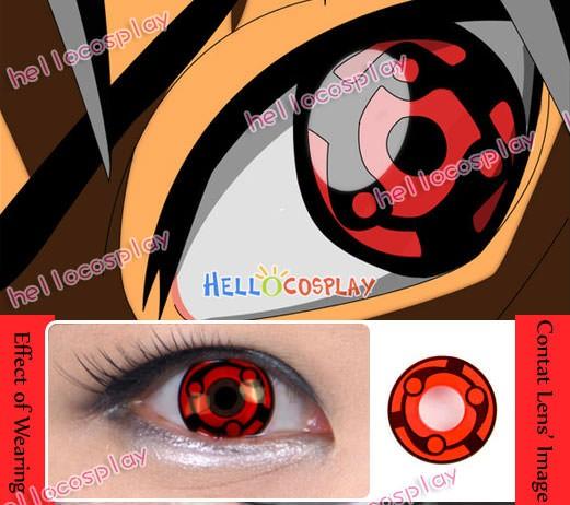 Naruto Madara Uchiha Eternal Mangekyo Sharingan Contact Lenses