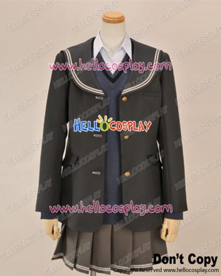 Amagami Cosplay Ai Nanasaki School Girl Uniform Costume