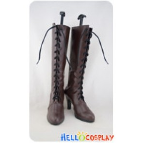 Hetalia Axis Powers Cosplay France Brown Long Boots