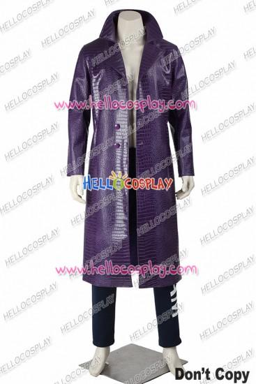 Suicide Squad Batman The Joker Cosplay Costume