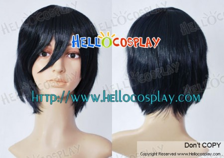 Blue Exorcist Cosplay Okumura Rin Black Wig
