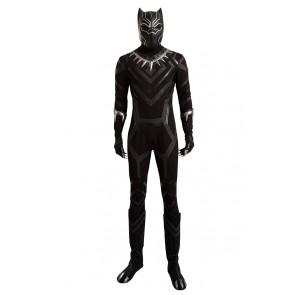 Captain America Civil War Black Panther Cosplay Costume