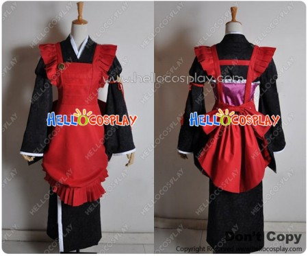 Amnesia Cosplay SAWA MINE Costume Working Clothes