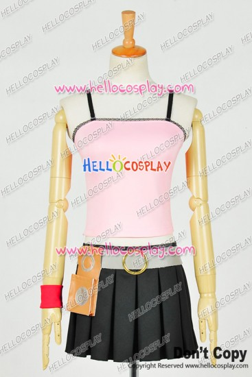 Fairy Tail Cosplay Lucy Heartfilia Costume Pink