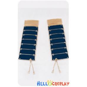 Touken Ranbu Cosplay Tsurumarukuninaga Waist Armor Blue