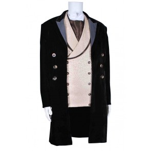 The Eighth Doctor Costume 8th Dr Suit Coat