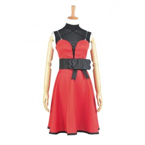 RWBY Cosplay Ruby Rose Dress Costume