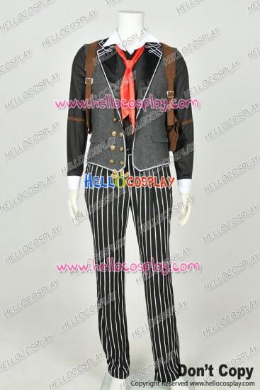 BioShock Infinite Cosplay Booker DeWitt Uniform Costume New Cotton Version