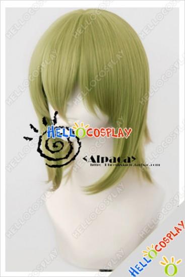 Vocaloid Cosplay Gumi Deep Green Short Wig