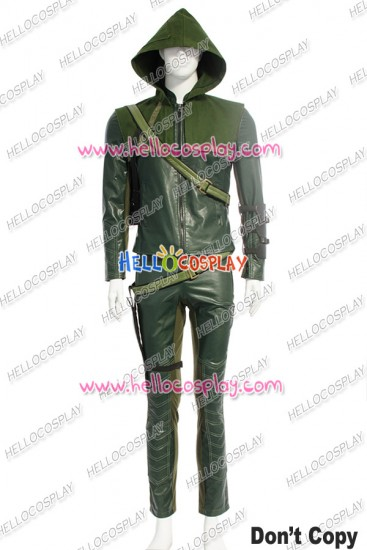 Green Arrow Oliver Queen Cosplay Costume