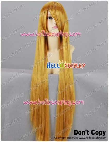 Gold Yellow Orange Long Cosplay Wig