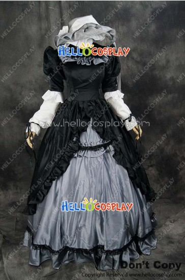 Gosick Cosplay Victorique De Blois Dress Costume Black