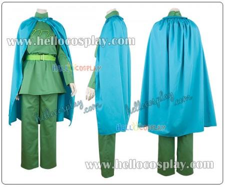 Soreike! Anpanman Cosplay Melonpanna Costume