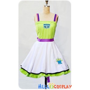 Toy Story Buzz Lightyear Cosplay Costume Dress