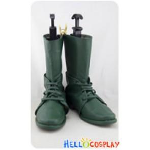 JoJo's Bizarre Adventure Cosplay Green Boots