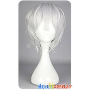 Touken Ranbu Nakigitsune Cosplay Wig White