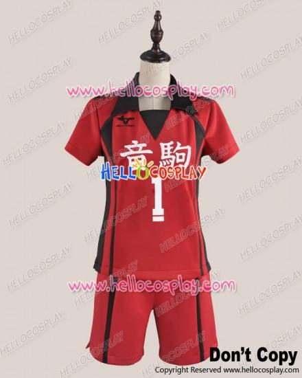Haikyū Cosplay Volleyball Juvenile Sports No.1 Ver Uniform Costume