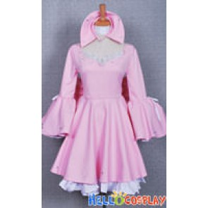 Chobits Cosplay Chii Cosplay Pink Dress