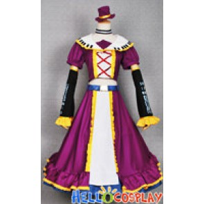 Vocaloid Cosplay Costume Namine Ritsu Dress Purple