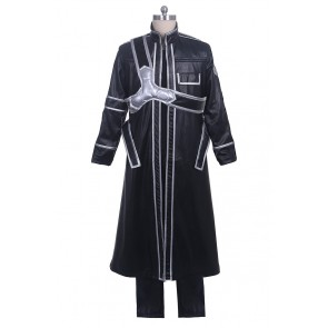 Sword Art Online Cosplay Kirito Kazuto Kirigaya Costume Uniform