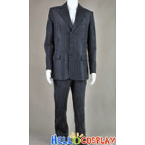 Doctor Costume Dr. The Silence Black Suit Blazer