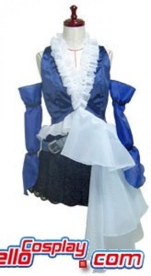 Final Fantasy XII 12 Yuna Dress Cosplay Costume