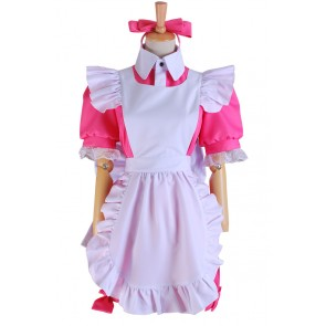 Black Butler Ciel Cosplay Alois Trancy Pink Maid Dress Costume