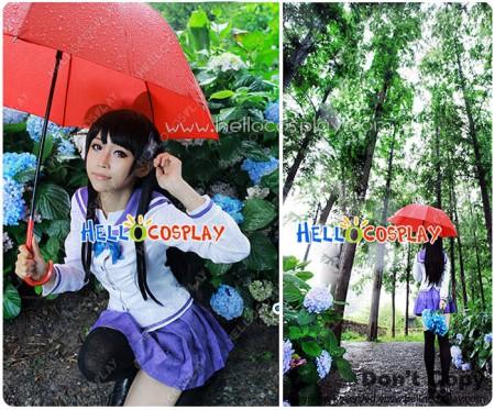 Sankarea Cosplay Saoji Ranko Costume Girl Uniform