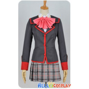 Little Busters Cosplay Rin Natsume Girl School Uniform Costume