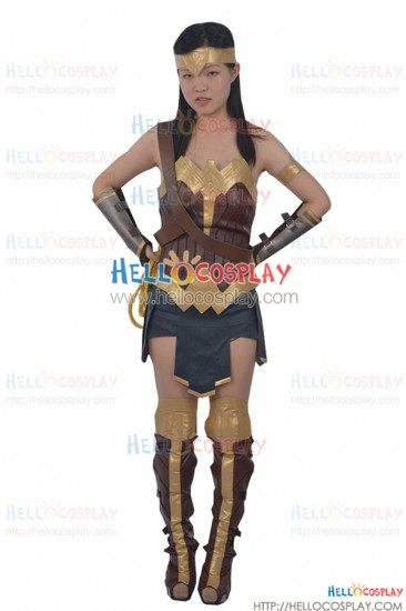 Batman v Superman Dawn Of Justice Diana Prince Wonder Woman Cosplay Costume