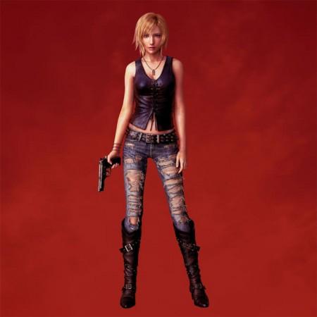 Parasite Eve 3 Cosplay Aya Brea Boots