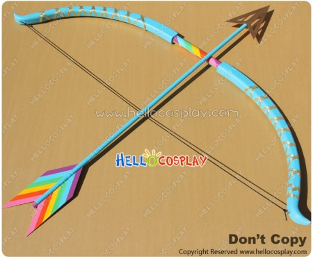 My Little Pony Cosplay Bow Arrow Colorful PVC Prop