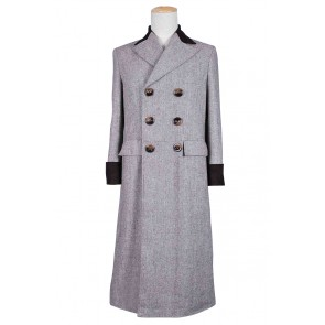 Doctor Dr. Wenge Brown Trench Coat Costume