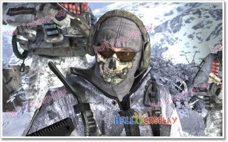 "Modern Warfare 2 Lieutenant Simon ""Ghost"" Riley Cosplay Mask"