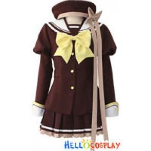 Shuffle Kaede Fuyou Cosplay Costume Uniform