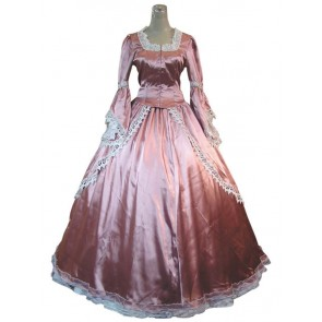 Victorian Lolita Marie Antoinette Satin Gothic Lolita Dress