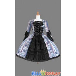 Gothic Sweet Lolita Victorian Classic Frill Dress