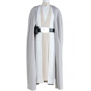 Star Wars The Force Awakens Luke Skywalker Cosplay Costume Robe Outfits