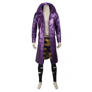 Suicide Squad The Joker Batman Cosplay Costume