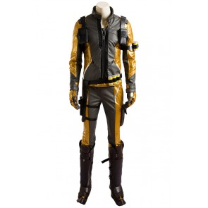 Overwatch Cosplay Soldier 76 Costume Golden