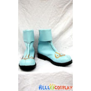 Ragnarok Online Cosplay Star Gladiator Blue Shoes