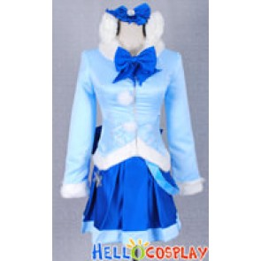 Vocaloid Nendoroid Snow Miku: Fluffy Coat version Costume