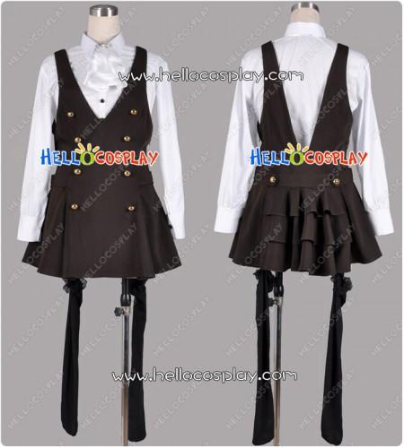 Inu x Boku SS Cosplay Ririchiyo Shirakiin Costume