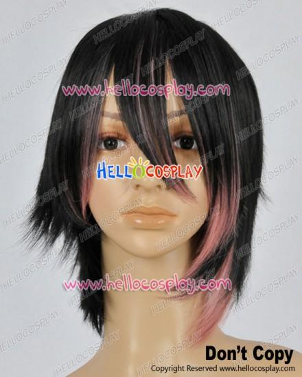 Makai Ouji Devils And Realist Cosplay Dantalion Huber Black Pink Wig